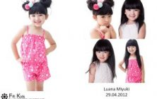 Luana Miuki Fifi Kids Agência de modelos e atores mirins