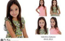 Valentina Galeano Fifi Kids Agência de modelos e atores mirins